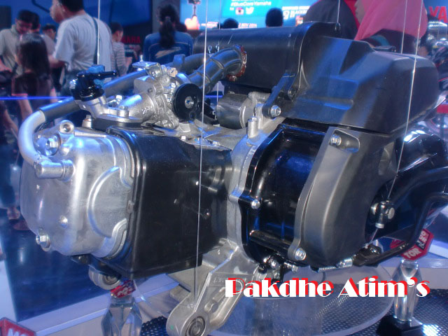 Blue Core Yamaha Mio Mio 125 Blue-core Mesin