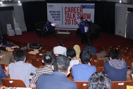 Career Talk Show PT Yamaha Indonesia Motor Manufacturing di Universitas Indonesia