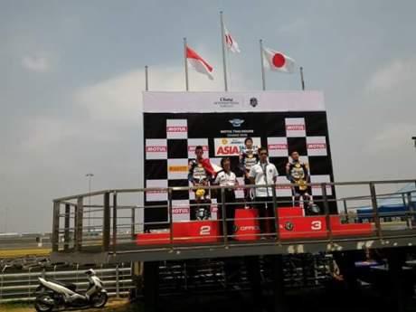 Podium SAATC 2016 Thailand Race ke 1
