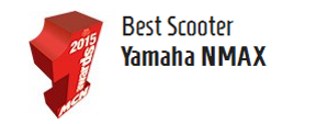 NMAX Best Scooter MCN Awards 2015