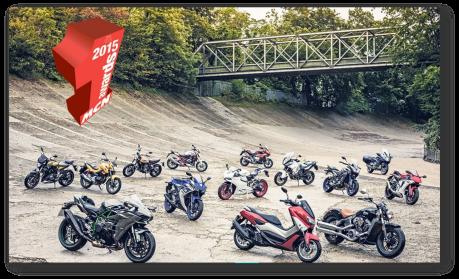 NMAX dengan motor Yamaha lainnya di Eropa