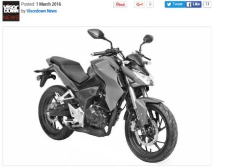 New Street Fighter Honda